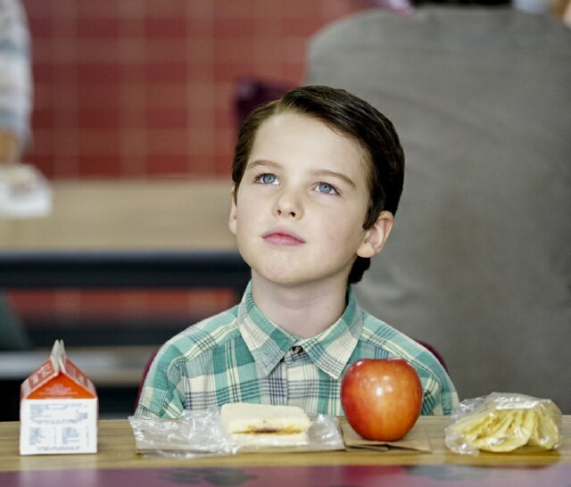 "Cover image for  article: ""Young Sheldon"" Is All Child-like Wonder and Family-centric Heart"