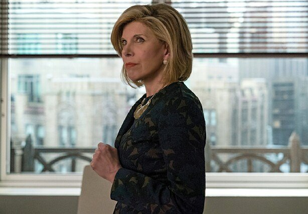 "On ""The Good Fight"" It's Diane Lockhart for the People"