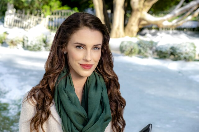 "Cover image for  article: Jessica Lowndes Kicks Off Hallmark's Holiday Season in ""Christmas at Pemberley Manor"""