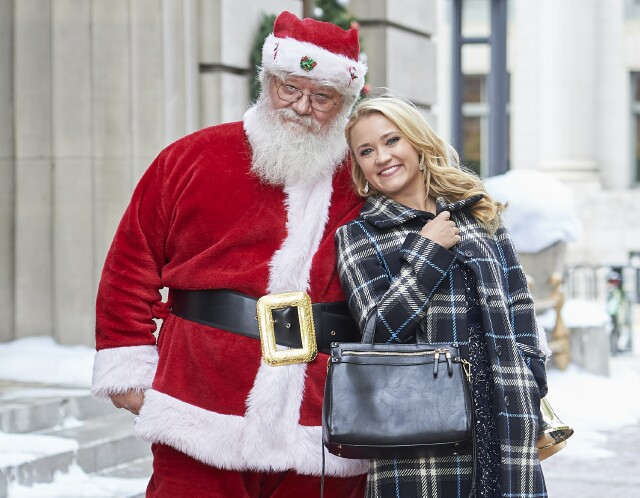 "Cover image for  article: Emily Osment Comes to Hallmark as Star and EP of ""Christmas Wonderland"""