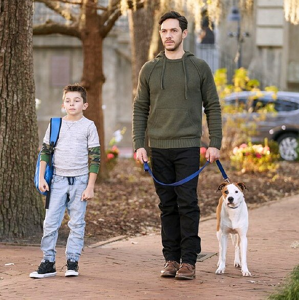 "Preview image for article: Michael Rady on Playing a Superdad in Hallmark's ""Love to the Rescue"""