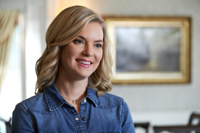 "Cover image for  article: Cindy Busby on Starring in Hallmark's Latest ""Wedding March"" Movie"