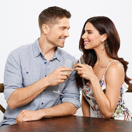 "Preview image for article: Eric Winter and Roselyn Sanchez on Screen for the First Time in ""A Taste of Summer"""