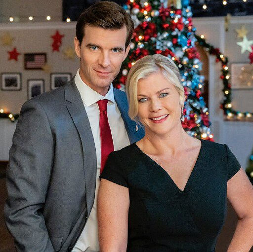 Preview image for article: Alison Sweeney on Her Second Hallmark Christmas Movie