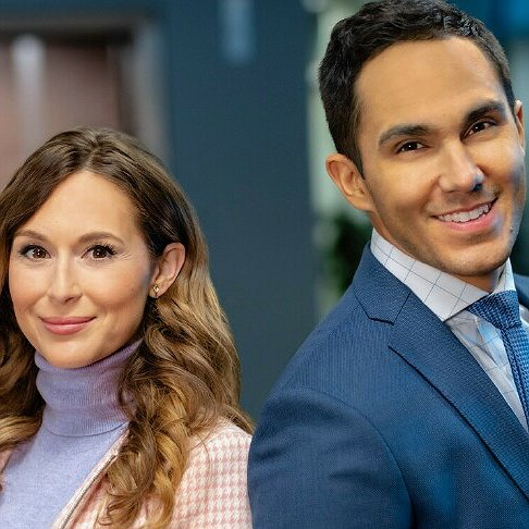 "Preview image for article: Carlos and Alexa PenaVega Return to Hallmark in ""Picture Perfect Mysteries: Dead Over Diamonds"""