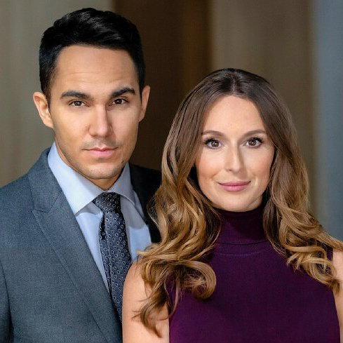"Preview image for article: Alexa and Carlos PenaVega On Quarantining and Their New ""Picture Perfect Mysteries"" Movie for Hallmark Movies & Mysteries"