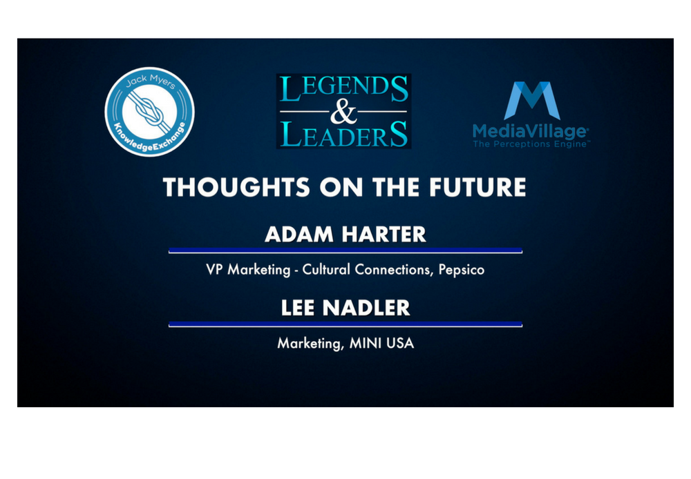 Video: Thoughts on the Future with Pepsico's Adam Harter and MINI's Lee Nadler logo