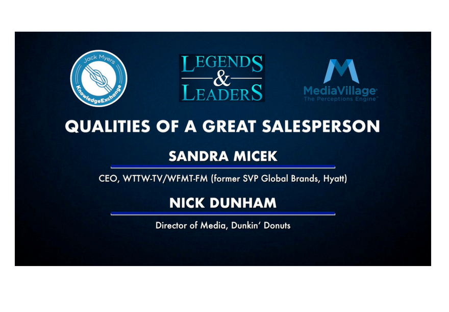 Video: Qualities of A Great Salesperson with Sandra Micek and Nick Dunham logo