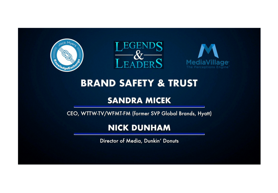 Video: Brand Safety and Trust with Sandra Micek and Nick Dunham logo