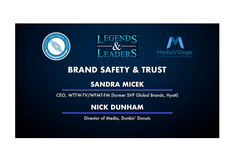 Video: Brand Safety and Trust with Sandra Micek and Nick Dunham