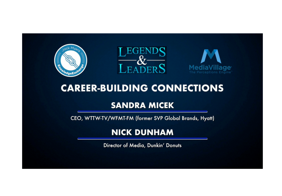 Video: Career-Building Connections with Sandra Micek and Nick Dunham logo