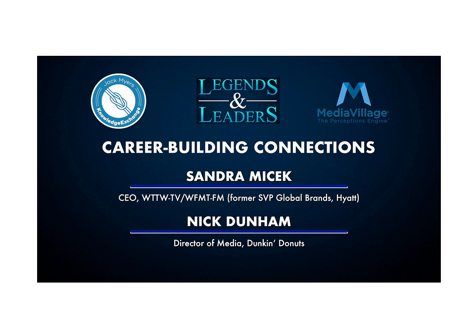 Video: Career-Building Connections with Sandra Micek and Nick Dunham