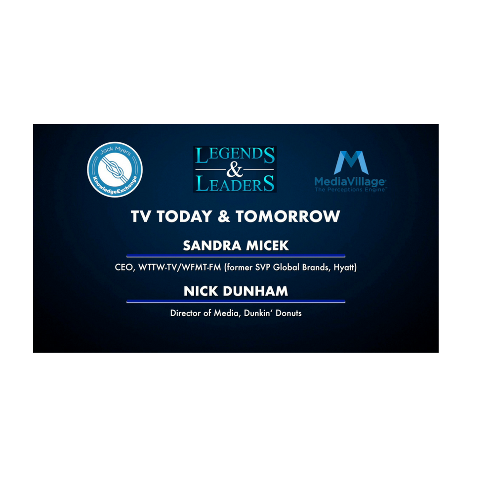 Cover image for  article: Video: TV Today and Tomorrow with Sandra Micek and Nick Dunham