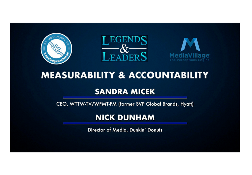 Video: Measurability and Accountability with Sandra Micek and Nick Dunham logo