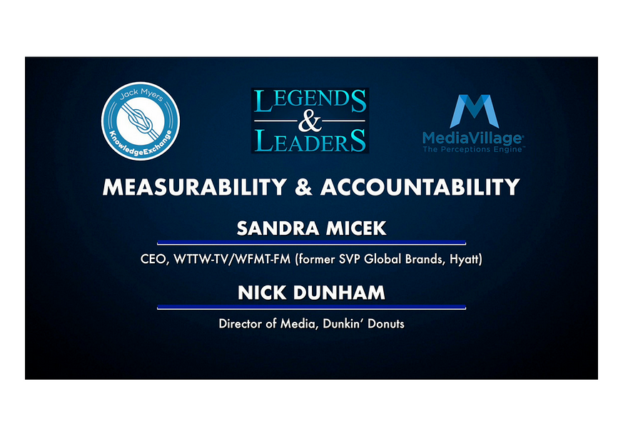 Video: Measurability and Accountability with Sandra Micek and Nick Dunham