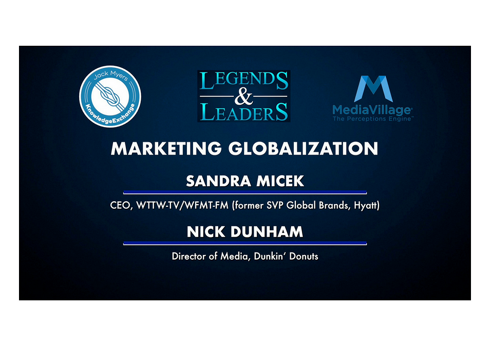 Video: Marketing Globalization with Sandra Micek and Nick Dunham