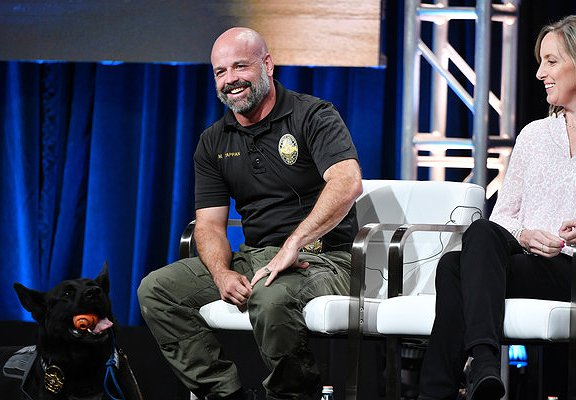 A+E Networks at TCA:  Police Dogs Steal the Show