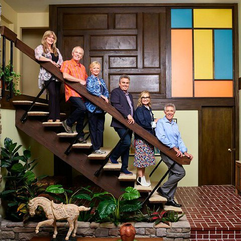 "Preview image for article: HGTV's ""A Very Brady Renovation"" Is a Grand Celebration of ""The Brady Bunch"""