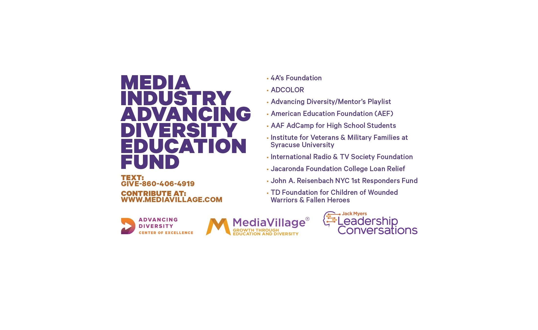 Cover image for  article: DONATE NOW: Advertising and Media Community Economic Relief Fund