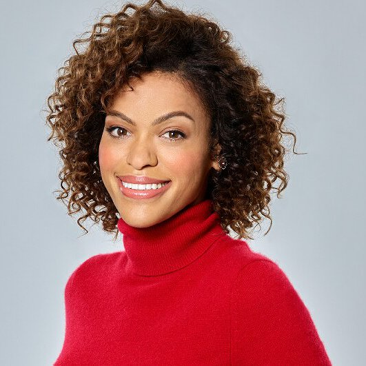 "Preview image for article: Alvina August on the Joys of Starring in the Hallmark Movie ""Deliver By Christmas"""