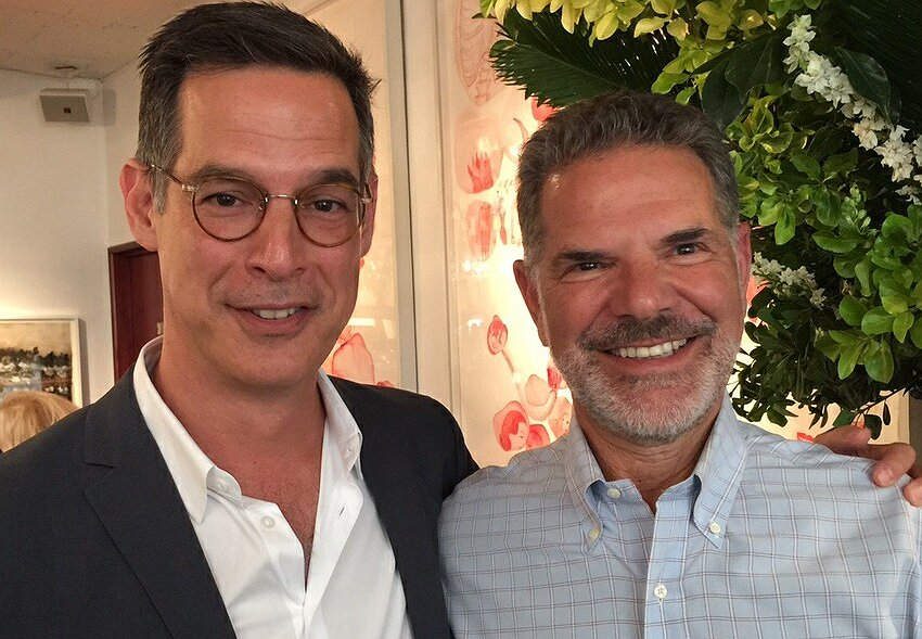 Lunch at Michael's with Freeform President Tom Ascheim