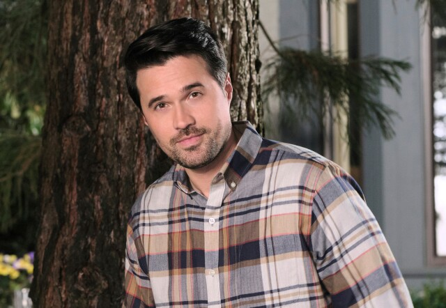"Cover image for  article: Brett Dalton on His Latest Hallmark Channel Movie, ""Just My Type"""