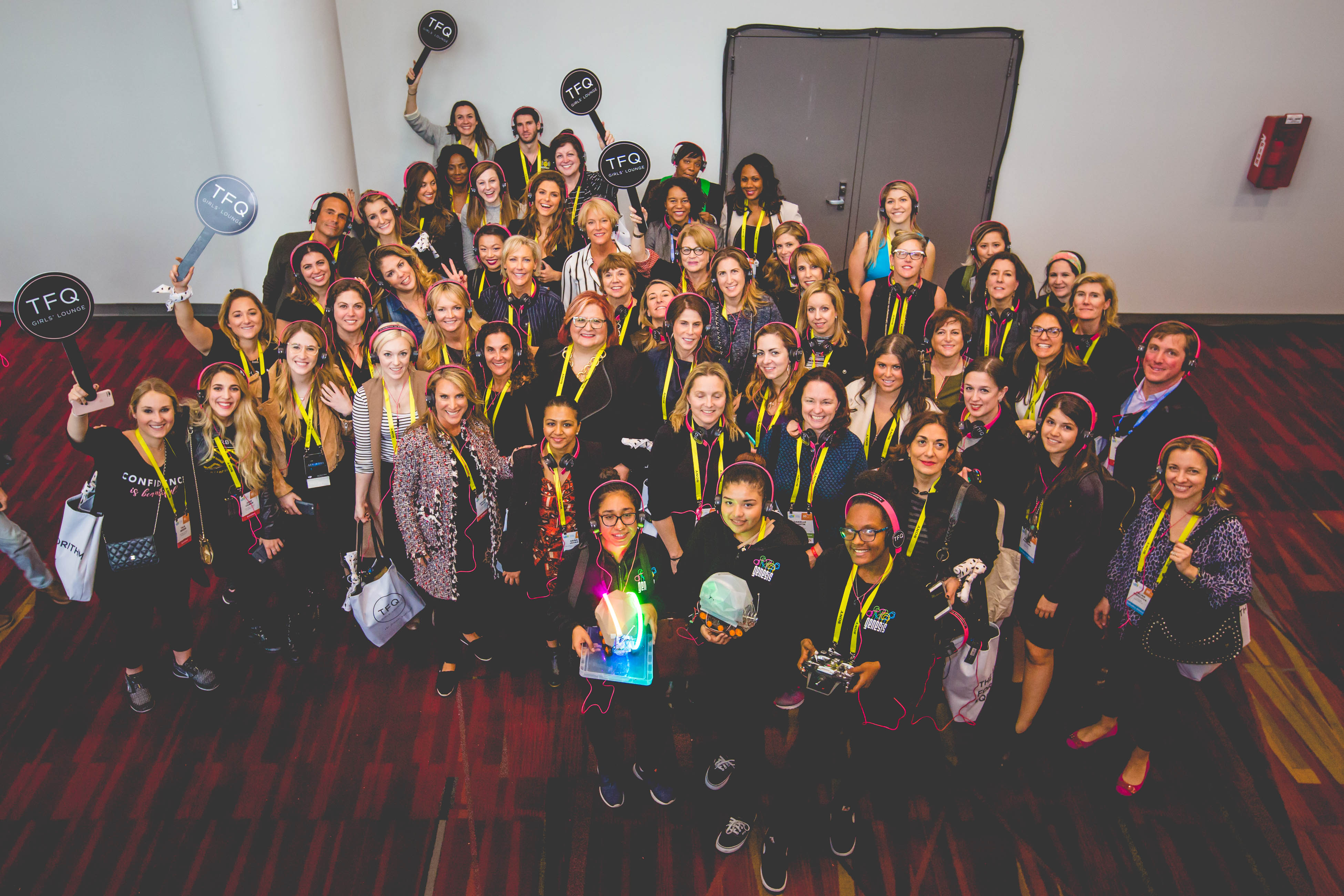 "Cover image for  article: Female Quotient Illustrates ""Power of the Pack"" at CES"