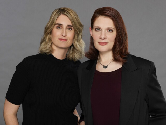 "Cover image for  article: Caitlin Parrish, Erica Weiss:  Best Friends, Playwrights and Showrunners of CBS' ""The Red Line"""