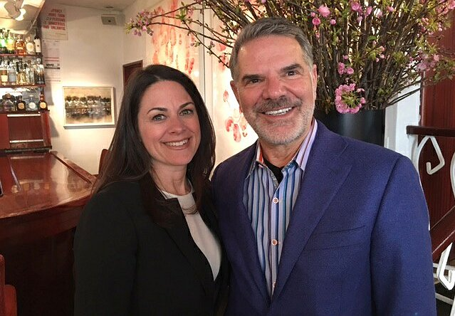 Lunch at Michael's with Courteney Monroe, National Geographic Global Networks CEO