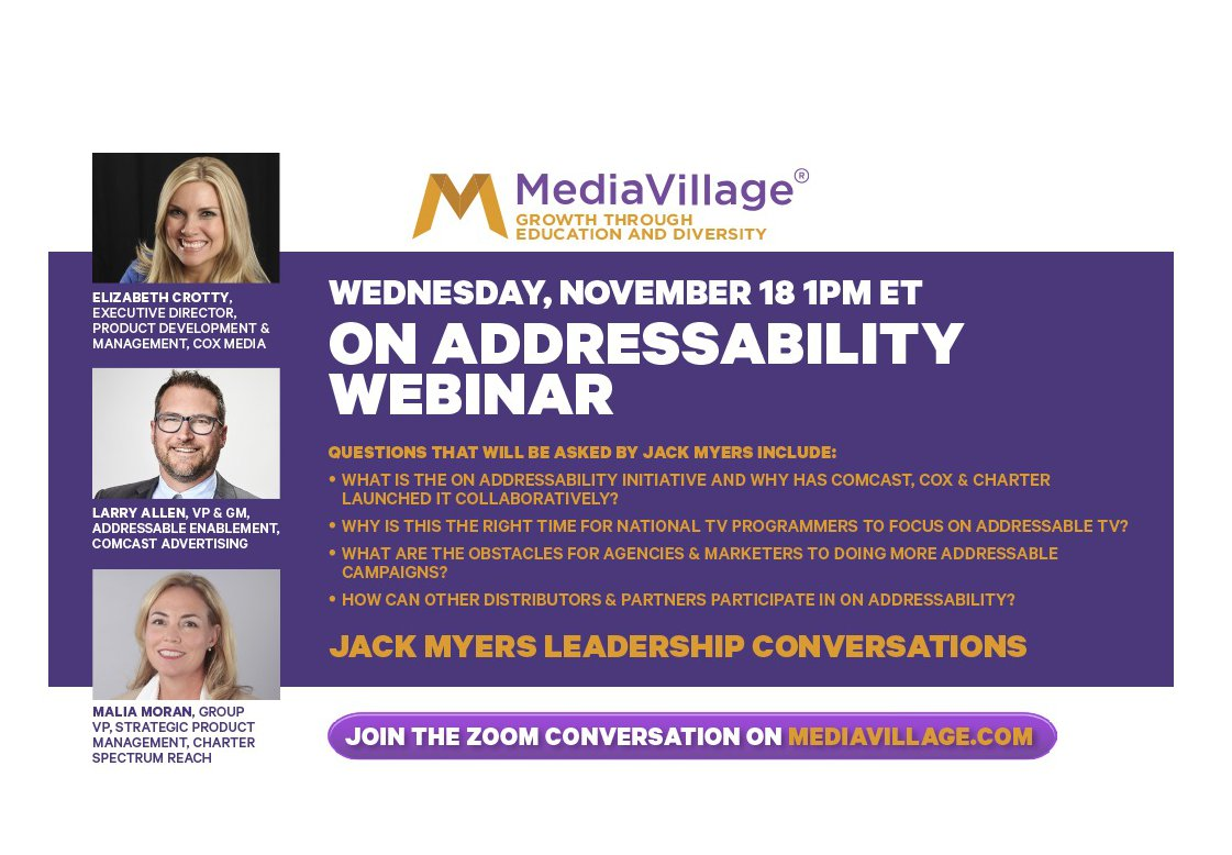 Watch Now: Deep Dive On Addressability Webinar for Marketers, Agencies and TV Executives logo