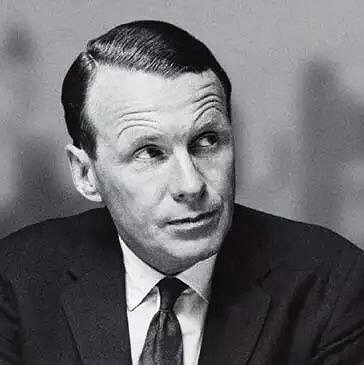 Preview image for article: HISTORY's Moment in Media:  David Ogilvy, the Father of Modern Advertising, Dies in July, 1999