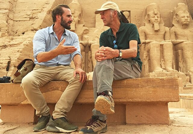 "Joseph Fiennes Makes Daring Adventure a Family Affair in Nat Geo's ""Egypt"""