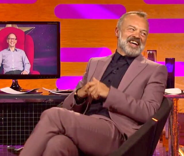 "Cover image for  article: ""The Graham Norton Show"" -- The Top 25 Programs of 2017, No. 24"