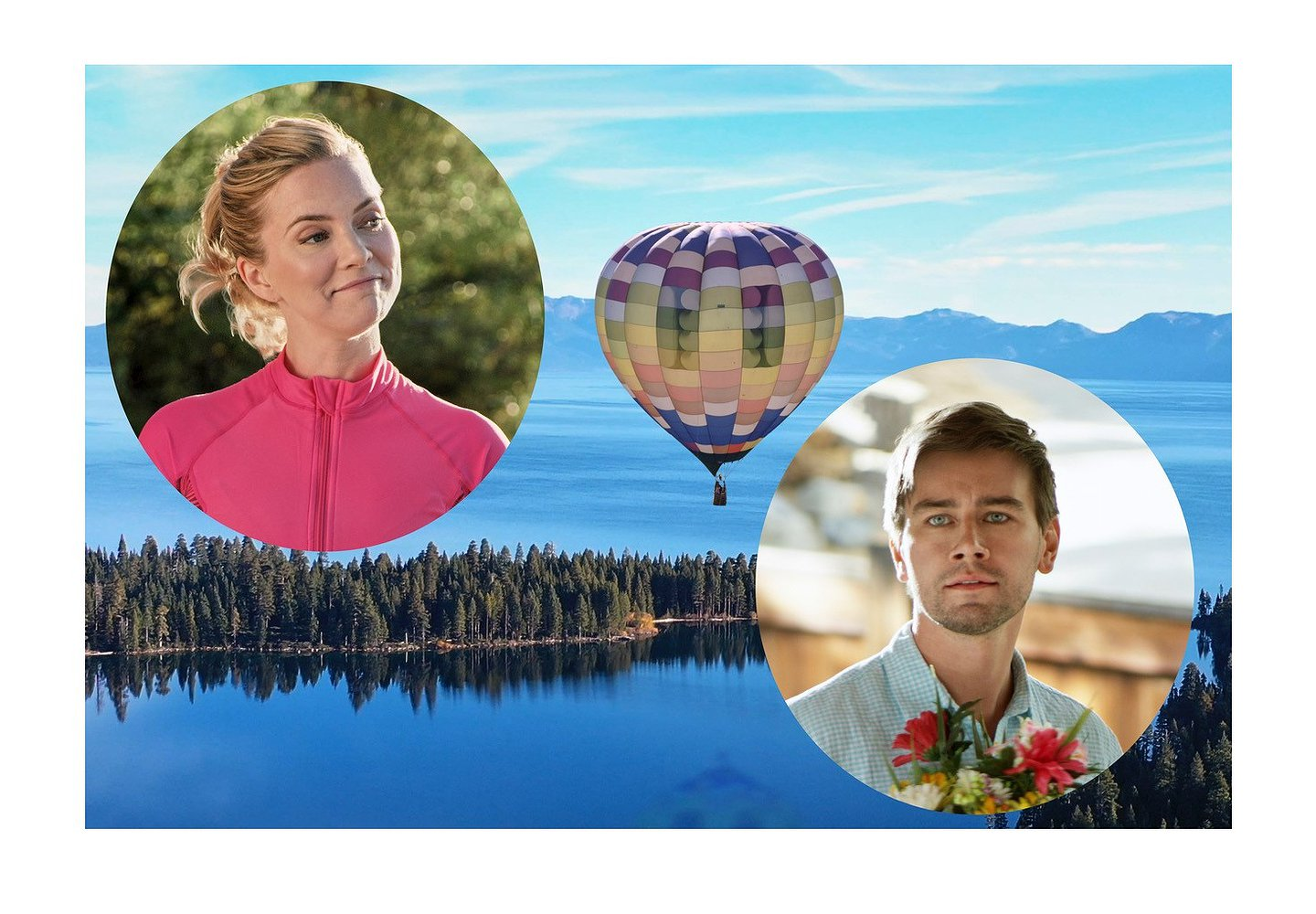 "Cindy Busby and Torrance Coombs Find ""Romance in the Air"" on Hallmark Channel"
