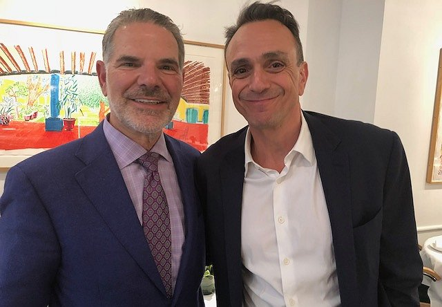 "Lunch at Michael's with Hank Azaria, Star of IFC's ""Brockmire"""