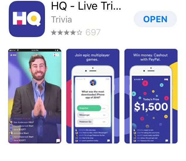 "Cover image for  article: ""HQ"" Is the Fall's Hottest New Show -- and It's On an App!"