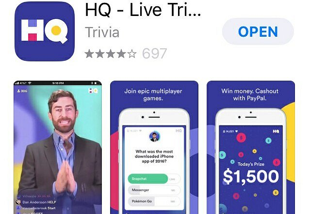 """HQ"" Is the Fall's Hottest New Show -- and It's On an App!"