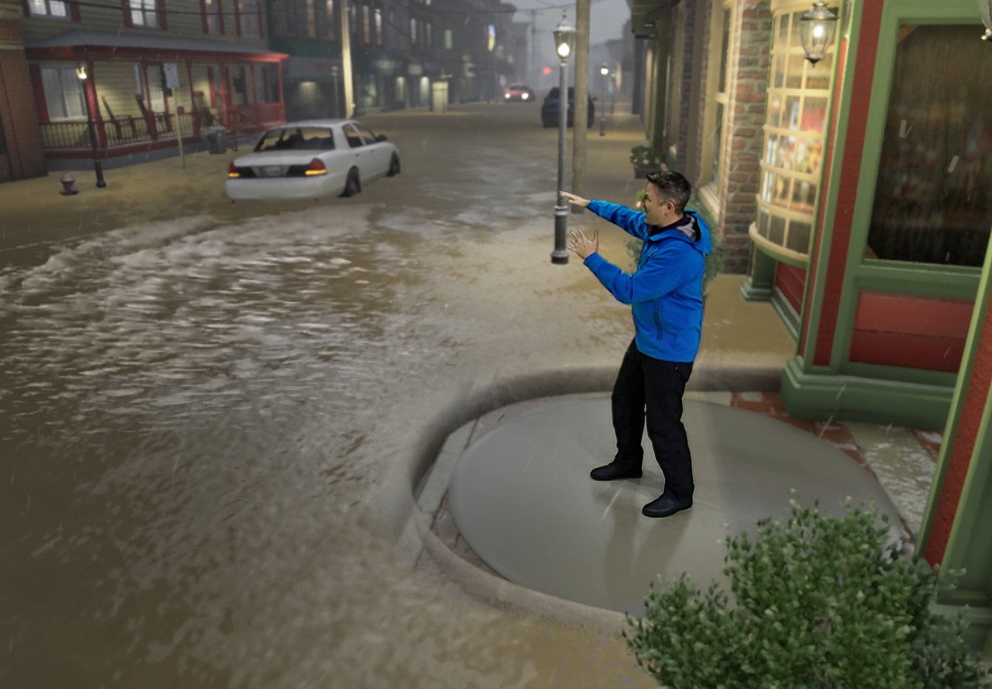 The Weather Channel Uses Immersive Mixed Reality to Bring Weather to Life