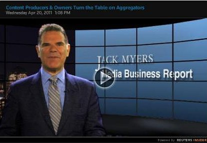 Watch It Now: Jack Myers Comments on Content Producers &  Owners Turning the Tables on Aggregators