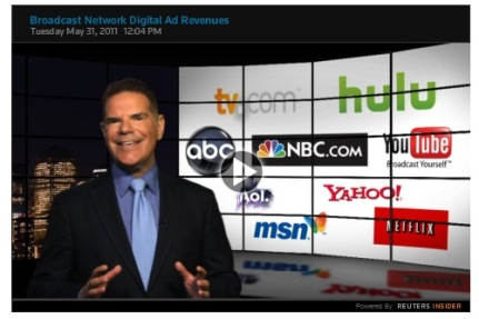 Cover image for  article: Jack Myers Video Report on Broadcast Networks' Digital Ad Revenues