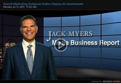 Jack Myers Video Report: Online Display Advertising & Search Marketing Head in Opposite Directions