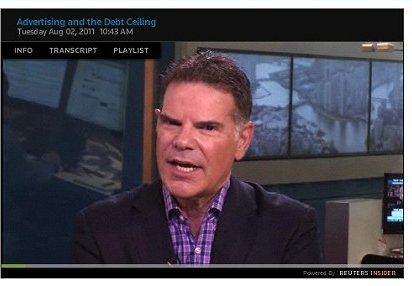 Jack Myers Video Report: Advertising and the Debt Ceiling