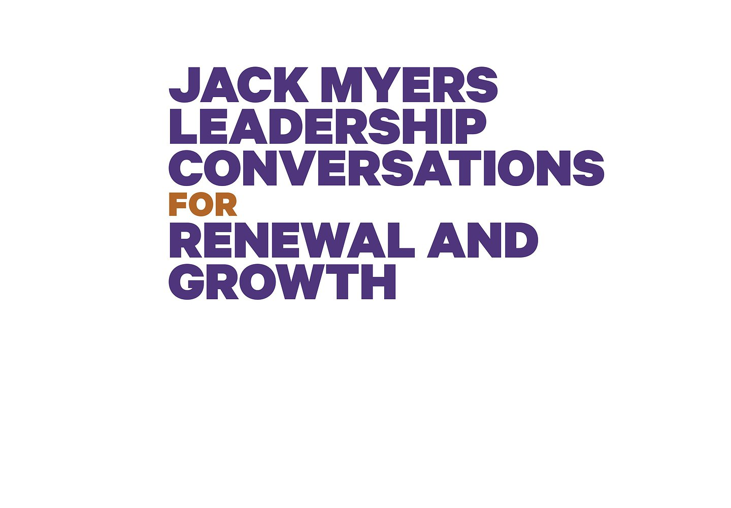VIEW ON-DEMAND AND REGISTER FOR UPCOMING CONVERSATIONS
