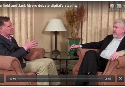 Watch Jack Myers and Bob Garfield Debate Digital's Stability.