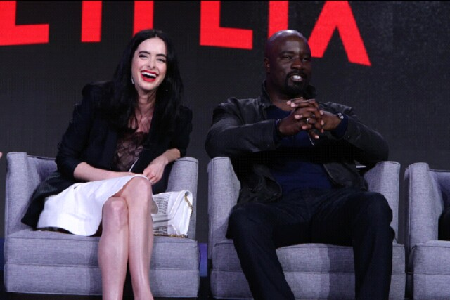 "Cover image for  article: Netflix at TCA: ""Jessica Jones,"" ""Daredevil"" and More"