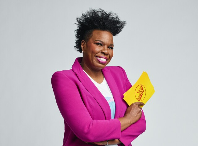 "Cover image for  article: Leslie Jones on Reviving ""Supermarket Sweep"" and Achieving Stardom in Her 40s"
