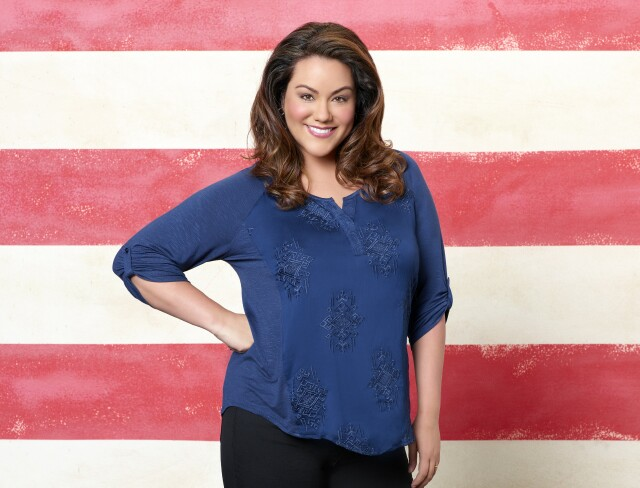 "Cover image for  article: ""American Housewife"" Katy Mixon On Motherhood IRL and On TV"