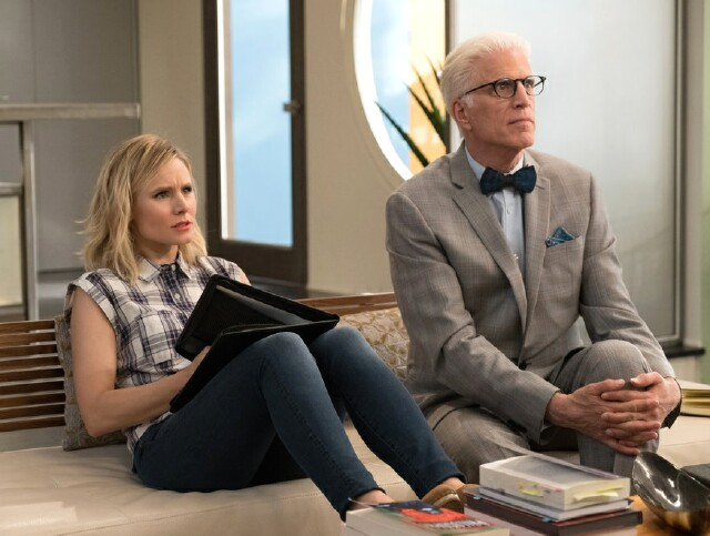 "Cover image for  article: ""The Good Place"": No Sophomore Slump for This Forkin' Good Show"