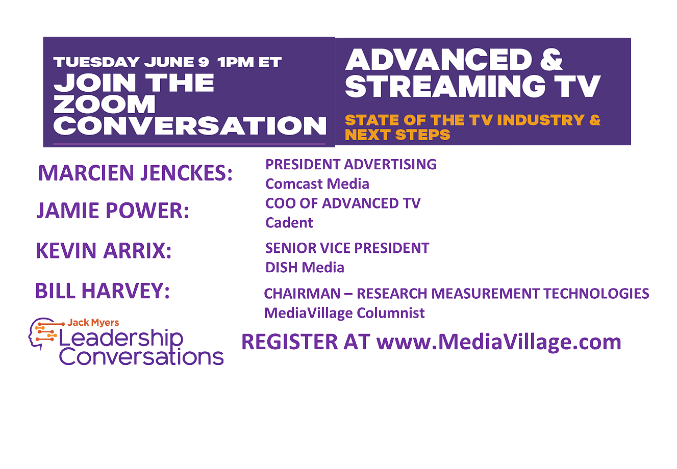 JUNE 9 ZOOM: Is COVID-19 Pushing Addressable TV Forward or Backward?