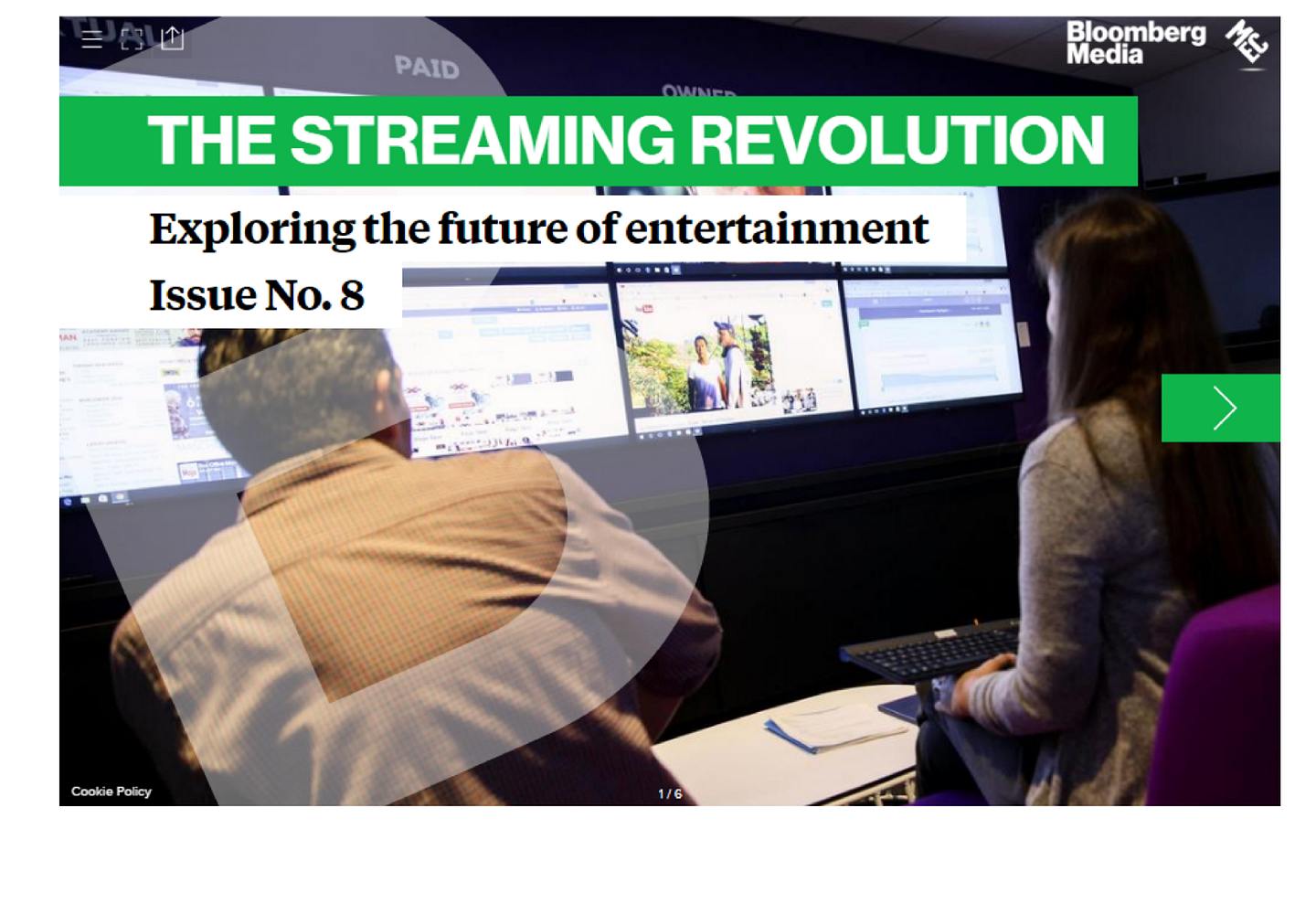 Staying Ahead of the Streaming Revolution: An interactive Guide